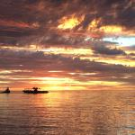 Best sunsets in the world are over Ningaloo Reef