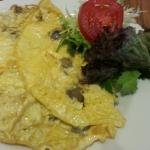 Order to cook omelette