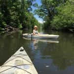 "My wife and I enjoyed our time on the ""Kinni"" for the 1st time after purchasing her kayak the we"