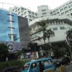 Bangunan hotel **** lantai-11 berdiri megah di lokasi strategis