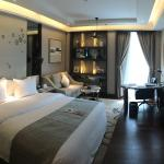compact but beautifully appointed room - elegant and lovely