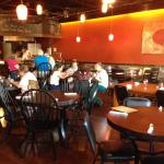 Brick Wood Fired Pizza - dining room