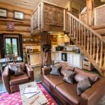 Sumptious cabin interior