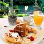 Desayuno de Waffles Gratis