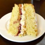 Delicious sponge cake.