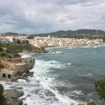 View of Calella de Palafrugell from Hotel San Roc
