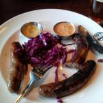 Three Sausage Plate