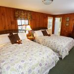 A Double Queen Room in the Carriage House