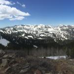 Amazing 360 deg views after a short/steep hike from the parking overlook.