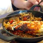Burnt Offerings - our dried out burnt inedible enchilada £13