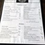 Humboldt Bar and Grill - Menu