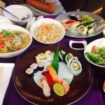 Nagasaki u-don, Sushi, Shrimp Fried Rice