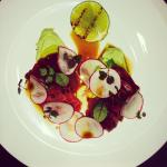 Blue fin Tuna Crudo