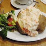 Jacket Potato with Coleslaw