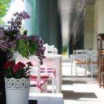 Restauracja ALYKI Sky Tower, ogródek
