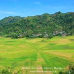 In Manggarai you will certainly notice the impressive lingko fields. The most amazing view ove