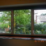 Beautiful leaded glass windows
