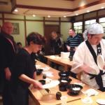 Atelier Sushi avec le chef Yang