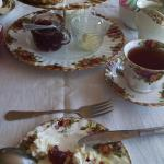 Cream Tea for two - perfect on a Sunday afternoon