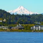 Beautiful Hood River, Oregon