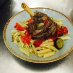 Sicilian Lamb with Penne Pasta