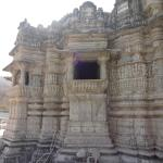 SIDE view of Surya Narayan temple, Ranakpur