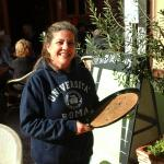 Eleni the Owner always has a lovey welcoming smile!