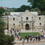 The Alamo, within walking distance from the hotel