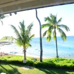 Typical Beach view from Lanai at Napili Sunset during Weekend days