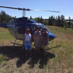 Wine tour by helicopter!