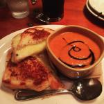 Classic pairing, done very well. Crispy grilled cheese with a flavorful tomato soup was satisfyi