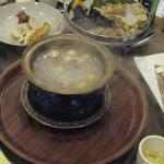 Various dumplings as it came - yeah, Hotpot!
