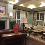 Interior lobby. Has a bed and breakfast feel. We loved staying here. The staff was great, especi