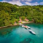 NAD Resort and it's surrounding jungle