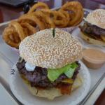 Waynesburger - burgers with onion rings