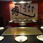Hibachi table