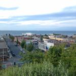 View in Port Angeles on a walk