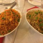 Schz fried rice & Hakka noodles!