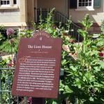 Plaque, The Lion House, Salt Lake City, Utah