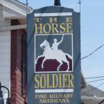 The Horse Soldier - sign