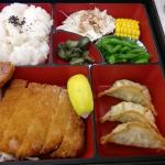 Pork Tonkatsu Bento (so meaty)