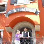 Bei Ankunft im Hotel zur Tenne, Ktzbühel.