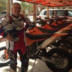 Salida al Desierto en Moto de Campo