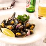 Fresh local mussels