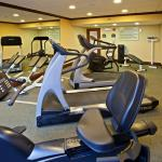 24-7 fitness center has cardio equip. & more so you can stay fit