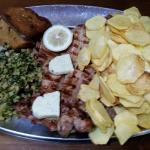 Lombinhos de porco com manteiga alho