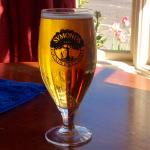 A pint of Symond's cider