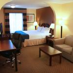 Spacious King Suite for work and play