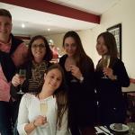 Nadine(birthday girl)Ben, Roslyn, Liza and Kiho