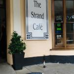 The front of the Strand Cafe